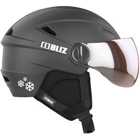 Bliz Jet Visor Helm Kinderen, black-white